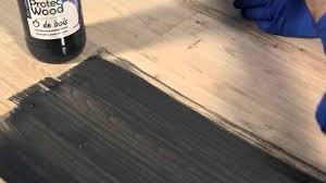 comment teinter et vitrifier un parquet en bois de châtaigner