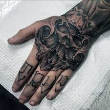 Elegant Hand Tattoo Designs For Guys 36 Simple Men With