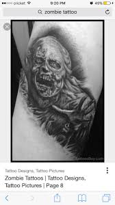 Fat Rams Pumpkin Tattoo by 24 Best Zombie Tattoos For Men Images On Pinterest Zombie