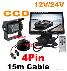 12V~24V Night Vision 18IR LED CCD Backup Reverse Camera 4Pin + 7 LCD ... Best Backup Cameras For Car Amazoncom Aftermarket Backup Camera Kit Radio Reverse 5 Tips To Selecting Rear View Mirror Dash Cam Inthow Cheap Find The Cameras Of 2018 Digital Trends Got A On Your Truck Vehicles Contractor Talk Best Aftermarket Rear View Camera Night Vision Truck Reversing Fitted To Cars Motorhomes And Commercials Rv Reviews Top 2016 2017 Dashboard Gadget Cheetah