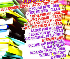 Coloring Book Tracklist Vybz Kartel Colouring Compiliation Out July Th On