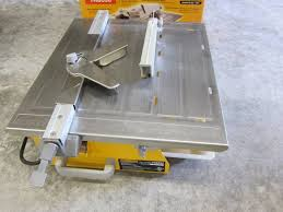 Workforce Wet Tile Saw 7 by Abi 238 Industrial U0026 Estate Sale In Golden Valley Minnesota By