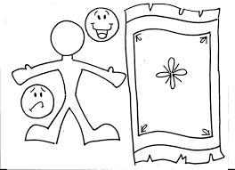 Jesus Heals Paralyzed Coloring Page