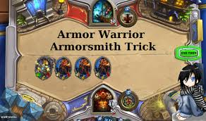 op armor warrior deck hearthstone wolfyowns youtube