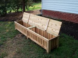 furniture best traditional outdoor storage bench for patios