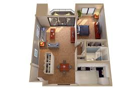 100 Small One Bedroom Apartments Flats Floor Ideas Loft S Plan Large