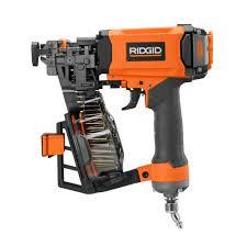 Home Depot Husky Floor Nailer by Ridgid Roofing Nailers Nail Guns U0026 Pneumatic Staple Guns The