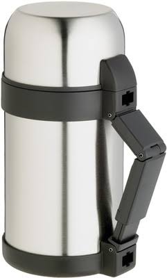 Master Class Stainless Steel Vacuum Soup Food Flask - 1L