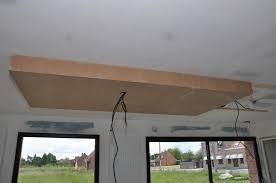 plafond de cuisine descente de plafond de notre cuisine avec sos aménagement