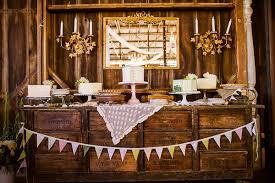 Sweet Dana Powers Wedding Cake TablesRustic