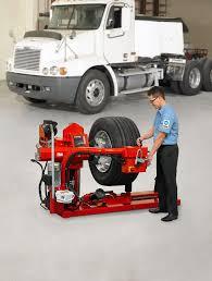 100 Truck Tire Changer TCX625HD Maintenance Work Online