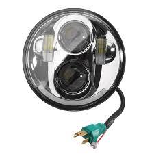 Harley Davidson Light Bulbs by 5 75 Inch Motorcycle Projector Drl Led Head Light Bulb Headlight