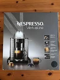 Matte Black Nespresso Vertuoline Coffee Expesso Machine W 12 Capsule Tasters