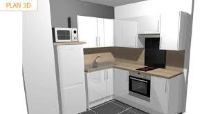 cuisine amenagee en u pose d une cuisine aménagée dans un appartement à deauville par la