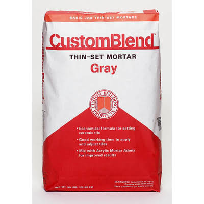 Custom Building Products CustomBlend Thin Set Mortar - 50lb