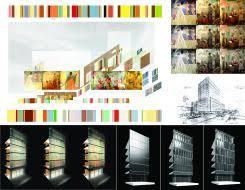 Harlem Hospital Mural Pavilion by Design Awards Winners Arnold Lee Chris Korsh Richard Saravay