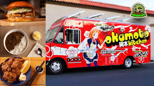 Okamoto Kitchen Japanese Food Truck - YouTube