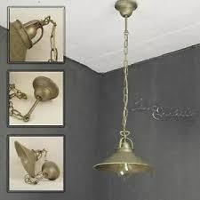 industrie hängele pendelleuchte messing antik bronziert