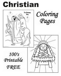 Free Printable Christian Coloring Pages For Christmas Of The Story Too