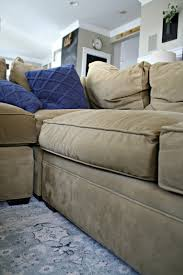 Buchannan Microfiber Sofa Instructions by A Review Of Our Most Expensive Purchase From Thrifty Decor