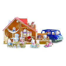 Calico Critters Master Bathroom Set by Doll Houses Toys Henry Bears Park