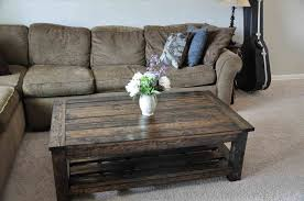 And Side Scavenger Chic S Pallet Coffee Table Painted Outstanding Diy Images