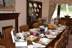 Woods End Bed Breakfast Dining Room