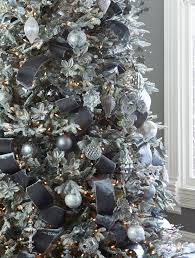 Frosted Fraser Fir Artificial Christmas Tree In Home By Balsam Hill