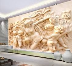 Well Known 25 Cool 3D Wall Designs Decor Ideas View 15 Of