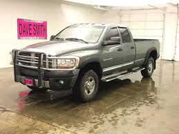 100 Dodge Ram Pickup Truck PreOwned 2006 3500 Laramie 4dr Quad Cab 1605 DRW