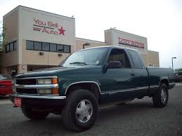 100 1998 Chevy Truck For Sale CHEVROLET SILVERADO 1500 4x4 3900 You Sell Auto