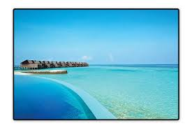 100 Maldives Infinity Pool Amazoncom Perfect Kitchen Area Rug In The