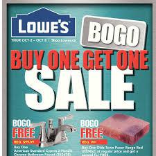 Lowes Canada Deck Tiles by Lowe U0027s Weekly Flyer Buy One Get One Sale Oct 2 U2013 8