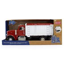 Big Farm Peterbilt Model 367 Truck With Red Grain Box 1:16 | The ...