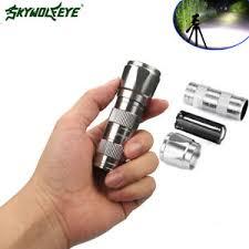 9000lm led flashlight led l torch light with clip mini penlight