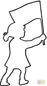 Click Patriotic Outline Coloring Pages Free Printables Kindergarten For Preschool