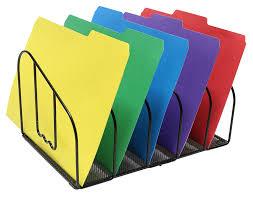 Desktop File Sorter Uk by Desk File Folder Holder Letter Sorter Rack Organizer Document