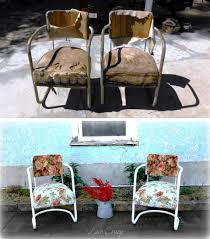Patio Furniture Under 10000 by Lace Crazy Vintage Patio Chair Redo