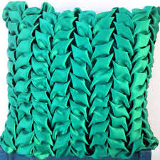 Oversized Throw Pillows Canada by 18 X18 Decorative Turquoise Satin Throw From Knotnstitch On Etsy