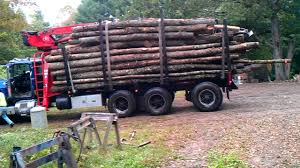 100 Log Trucks For Sale Log Truck Delivers Wood YouTube