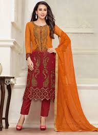 Simple Latest Pakistani Girls Dresses Design 2015