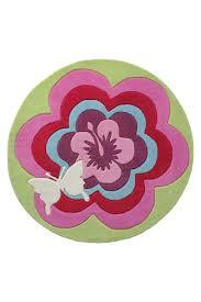 tapis rond chambre tapis rond chambre fille flower de la collection esprit