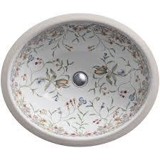 Kohler Verticyl Round Undermount Sink by Undermount Bathroom Sink Oval
