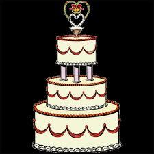 Wedding Cake Clipart Pics wedding cake clipart luxury simple wedding cake clipart cliparts 540 X 540
