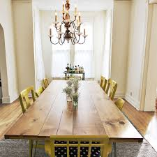 DIY Dining Room Table By A Beautiful Mess