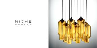 Cool Affordable Modern Dining Room Chandelier Made In Beacon Niche Lighting Crystal Book Featuring