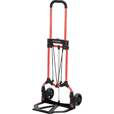 100 Harper Hand Truck S Magna Cart Folding Red 160Lb Capacity