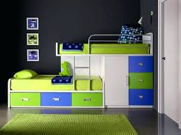 Low Loft Bed With Desk Underneath by Loft Beds With Dresser Colorful Full Size Loft Bed With Desk And