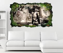 3d wandtattoo katz auto graffiti lifestyle selbstklebend wandbild wohnzimmer wand aufkleber 11l1698 3dwandtattoo24 de