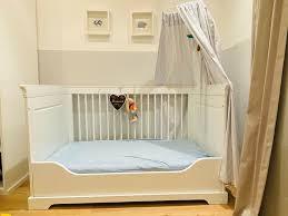 luxus babybett kinderbett kidsmill umbau set 799 np 799